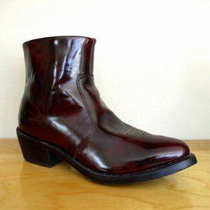 Durango Mens Black Cherry Western Boots Sz 10